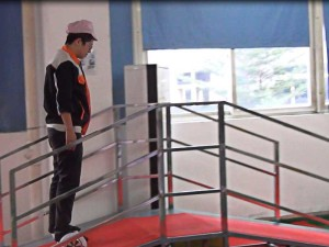 Testing Hoverboards In China